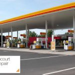 Petrol Forecourt Canopy Repair